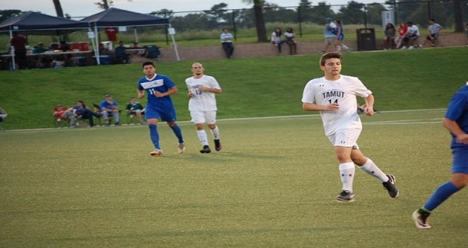 Photo for Eagles Record 2-1 Loss in Overtime to Huston-Tillotson