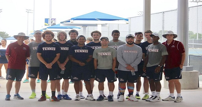 Photo for Men's Tennis Ends their season in the RRAC Championship game with 5-0 loss to OLLU