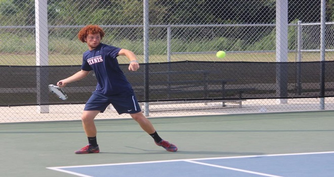 Photo for Cole Guy Named to the NAIA All-American Men's Tennis Team