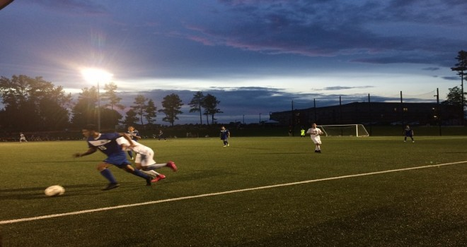 Photo for Men�s Soccer Stumbles in Inaugural Game with a 6-0 Deficit to OLLU