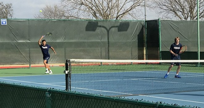 Photo for Men's Tennis Results vs Collin County/USW/Jacksonville College
