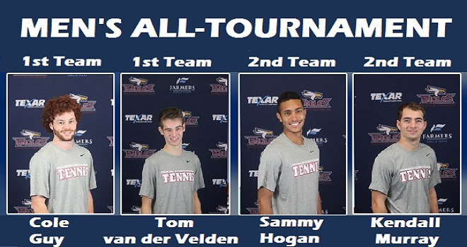 Photo for Men's Tennis Lands Four Players to the All-Tournament Team