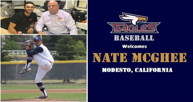 Photo for Baseball Adds Merced College Standout Pitcher Nate McGhee