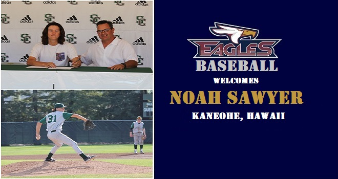 Photo for Eagles Baseball Signs Shasta College Lefty Noah Sawyer