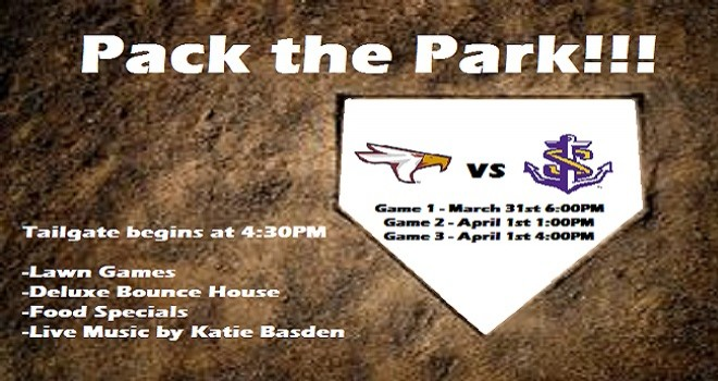 Photo for TAMUT Baseball Hosts Pack the Park weekend on March 31st and April 1st