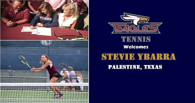 Photo for Women's Tennis Signs East Texas Standout Stevie Ybarra