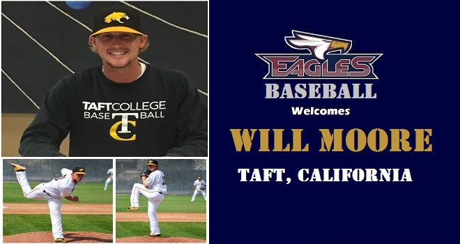 Photo for Eagles Land Taft College Right Handed Pitcher Will Moore