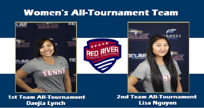 Photo for Two Women's Tennis Players Earn All-Tournament Team
